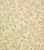 Pattern wallpaper, by William Morris
