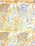 Cornish Farm furnishing fabric, by Alec Walker