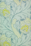 The Iolanthe wallpaper, by C.F.A Voysey