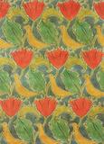 Birds & Poppies textile design, by Voysey