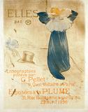 Elle par, by Henri de Toulouse-Lautrec
