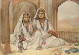 Two nautih girls of Kashmir, by William Carpenter