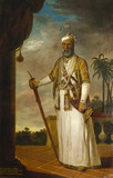 The Nawab of Arcot and the Carnatic, portrait by Tilly Kettle