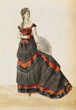 Design for a female costume