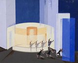 Design for stage set for Construction of Light, by Alexandra Exter