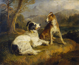 The Two Dogs, by Sir Edwin Landseer