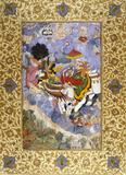 Krishna's Combat with Indra