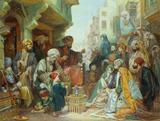 A Cairo Bazaar, by John Frederick Lewis