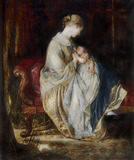 The Young Mother, by Charles West Cope