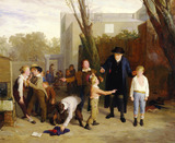 The fight interrupted, by William Mulready