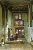 Reception room in the house of the Mumluk Raduan Bey, by Frank Dillon