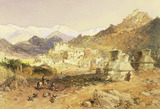 The Palace at Leh, the Capital of Ladakh, by William Simpson