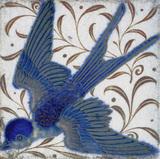 Swallow, by William De Morgan