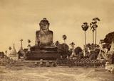 Colossal Buddha, by Linnaeus Tripe