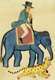 An Englishman on an Elephant