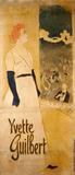 Yvette Guilbert, by Théophile Alexandre Steinlen