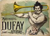 Marguerite Dufay dans son Répertoire, by Louis Anquetin