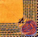 Design for a printed textile, by C.R. Mackintosh