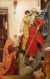 Elijah Restoring the Widow's Son, by Ford Maddox Brown