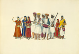 A group of dancers and musicians
