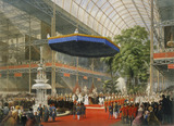 The State Opening of The Great Exhibition in 1851, by Louis Haghe