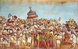 Punjabi Marriage procession