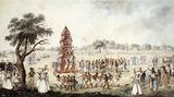 The Jagganath Festival procession