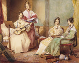 The Four Daughters of Archbishop Sumner, by G. Richmond