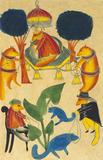 The Jackal Rajah's Court