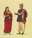 Gujarat couple of Tanjore