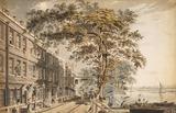 Cheyne Walk, Chelsea, by James Miller