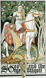 St. George and the Dragon, by George Heywood Sumner