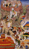 Akbar's Entry into the Fort of Ranthambhor, from the Akbarnama