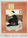 Poster for The New Woman, by Albert Morrow