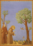 St.Francis Preaching, by Edward Kaiser