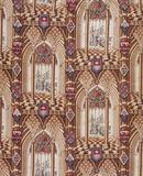 Furnishing Fabric with Gothic Windows