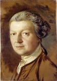 Portrait of Joshua Kirby, by Thomas Gainsborough