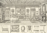 Drawing room, by James Schoolbred & Co.