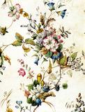 Textile designs from the Kilburn album, by William Kilburn