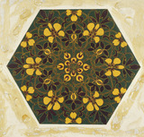 Tile design, by Kate Greenaway