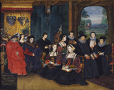 Sir Thomas More and family, by Rowland Lockey
