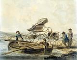 Colonel Greville at Briton Ferry, by Julius Caesar Ibbetson