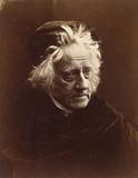 John Frederick William Herschel, photo Julia Margaret Cameron