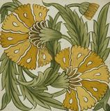 Double Carnation, by William De Morgan