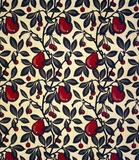 Pears and Cherries furnishing fabric, by Bruce James Talbert