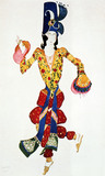 Costume design, by Leon Bakst