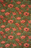 Poppies fabric design, by Thomas Wardle & Co