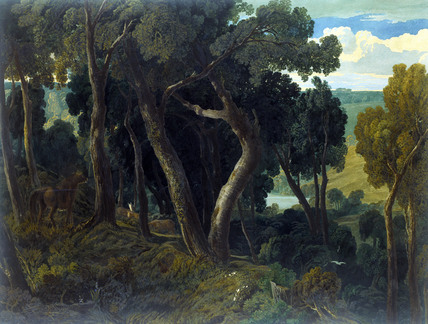 Wichwood Forest, by J.M.W. Turner
