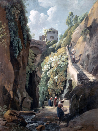 View in the Island of Capri, by Ramsey Richard Reinagle