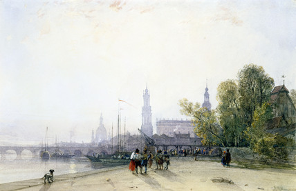 Dresden, by William Wyld